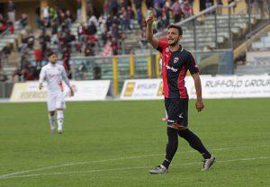 Edoardo Blondett, in gol nell'andata contro il Matera
