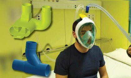 A Vibo Valentia si stampano e donano valvole per respiratori